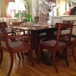 Kids Wooden Table And Chair Set White Rolling Antique Mahogany Duncan Phyfe Dining Room | Displays Pinterest Phyfe, ...