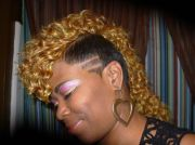 raymona hairstyles with weave curly