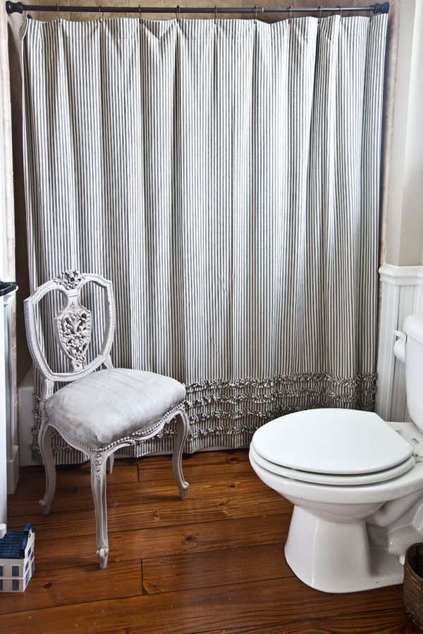 Farmhouse Bathroom Reveal Antiques Chairs And Farmhouse