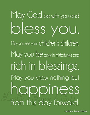 Irish Wedding Blessing  sayingsquotes  Pinterest  Wedding blessing Wedding and Irish blessing