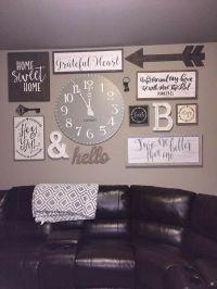 Best 25+ Rustic gallery wall ideas on Pinterest