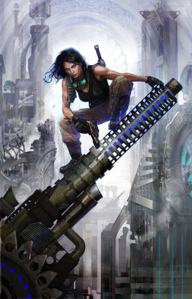G33k Anime Girl Wallpaper 17 Best Images About Cyberpunk Art Female Characters On