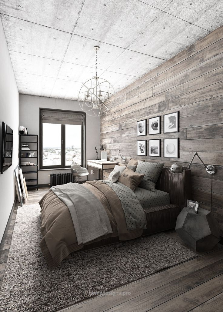 25 best ideas about Modern rustic bedrooms on Pinterest