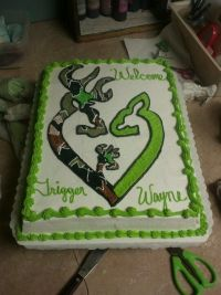 camouflage baby shower   lime green and camo browning baby ...