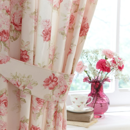 These Floral Annabella Curtains From Dunelm Mill Currently Hang At Our Living Room Window I