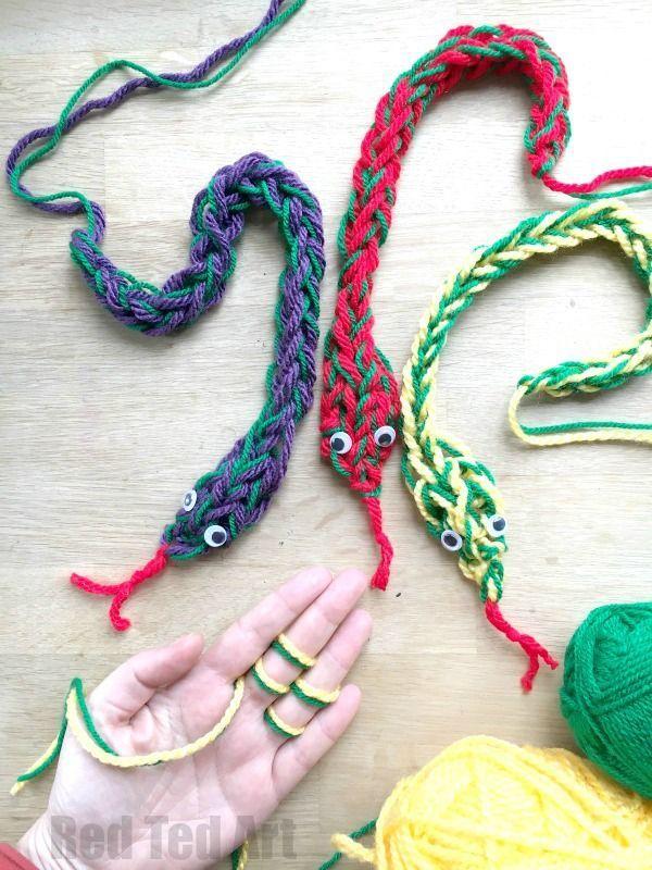 25 Best Easy Yarn Crafts Ideas On Pinterest Yarn Crafts