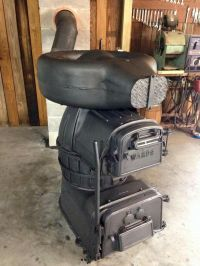 Wards coal heater or furnace. | Antique stoves | Pinterest