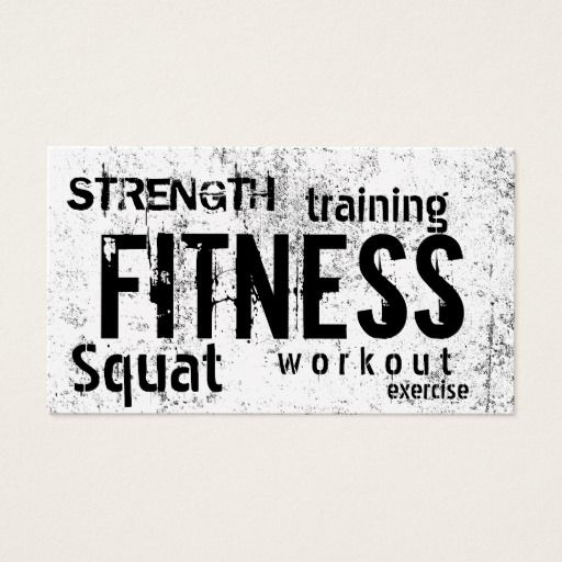 284 best Fitness Trainer Business Cards images on Pinterest