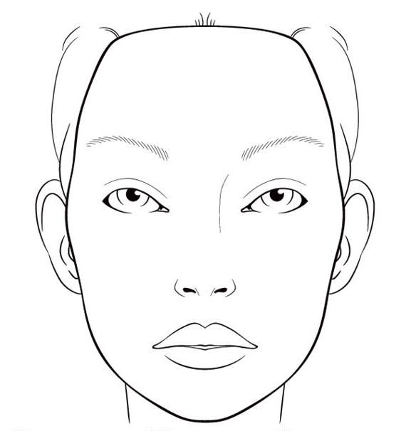 CREATE! Try printing off a Blank Face Template, and
