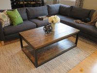 Industrial Coffee Table | Do It Yourself Home Projects ...