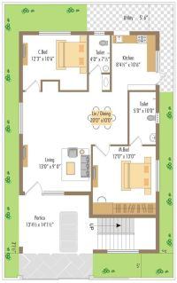WEST FACING SMALL HOUSE PLAN - Google Search | Ideas for ...