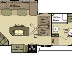 Fifth Wheel Campers With Bunkhouse And Outdoor Kitchen Knife Sheaths 2 Bedroom Floorplans - Google Search | Camper ...