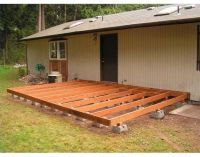 How to Build a Deck Using Deck Blocks | Stains, The old ...