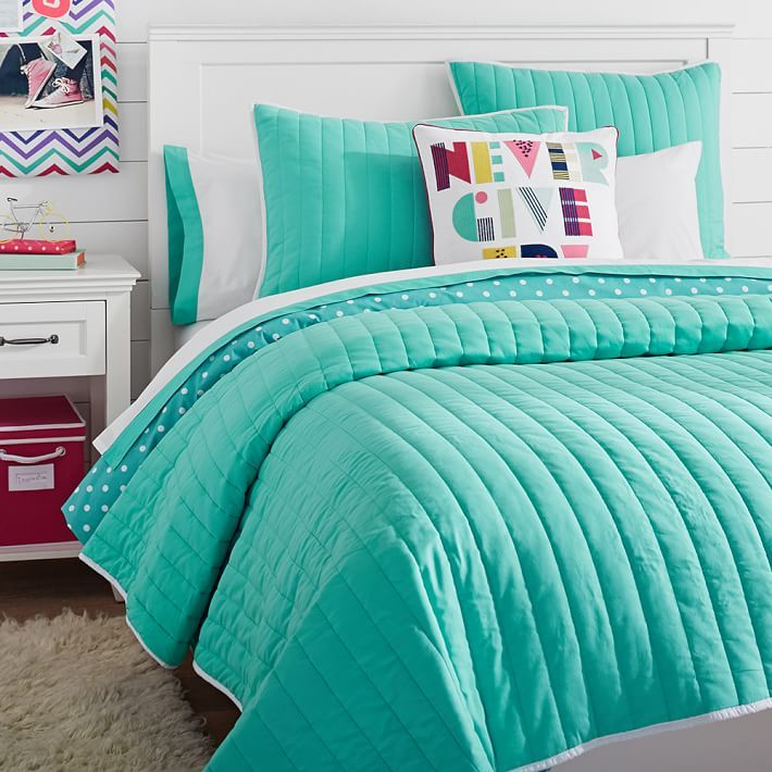 Teal Turquoise Or Pool Whatever You Call It This Bedding