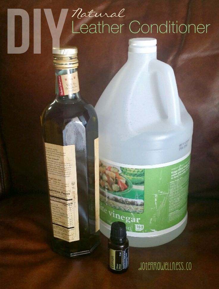 Diy homemade leather cleaner conditioner for leather