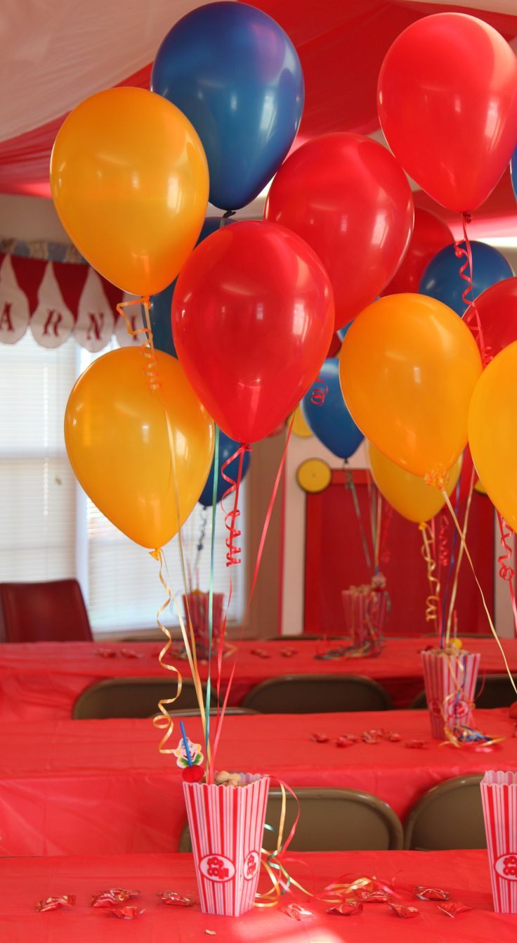 25 Best Ideas About Circus Decorations On Pinterest