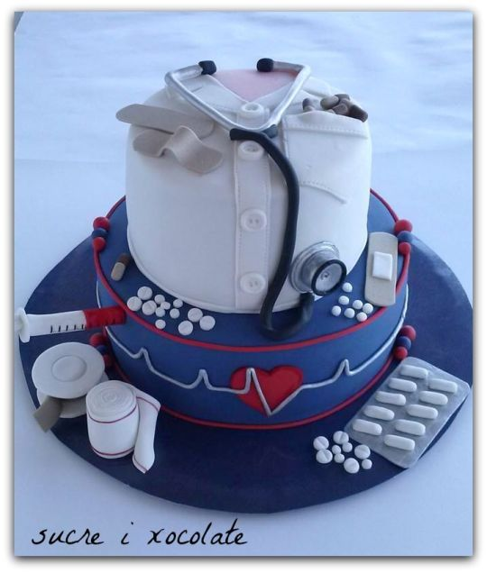 25 best ideas about Medical cake on Pinterest  Nurse