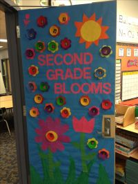 Spring Classroom Door | school ideas | Pinterest | Spring ...