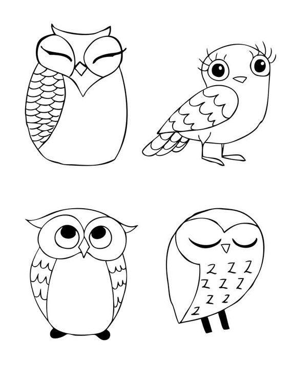 396 best images about Applique Birds- Owls on Pinterest