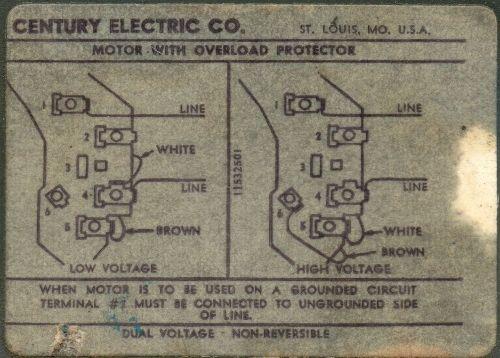 Westinghouse Ac Motor Wiring Diagram Westinghouse Motor Type Fj
