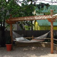 Hammock Arbor | backyard | Pinterest | Hammocks and Arbors