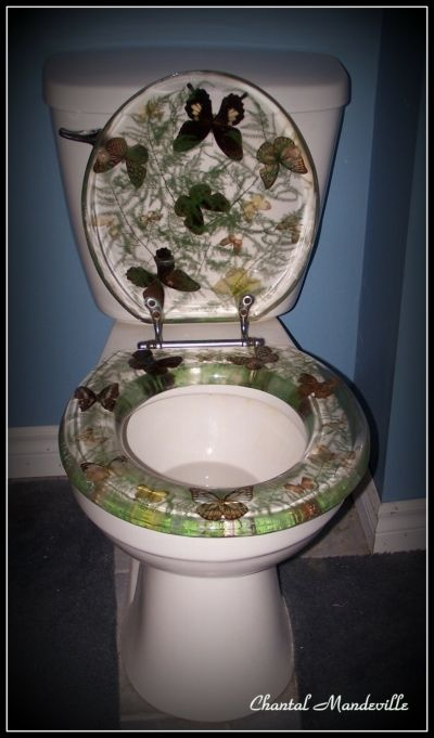 Butterflies Toilet Seat  Miscellaneous  Pinterest  Toilets Toilet seats and Butterflies
