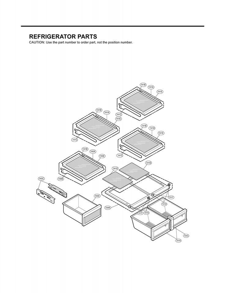Best 25+ Lg refrigerator parts ideas only on Pinterest