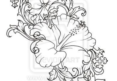 Daisy Flower Tattoo Design Real Photo Pictures Images