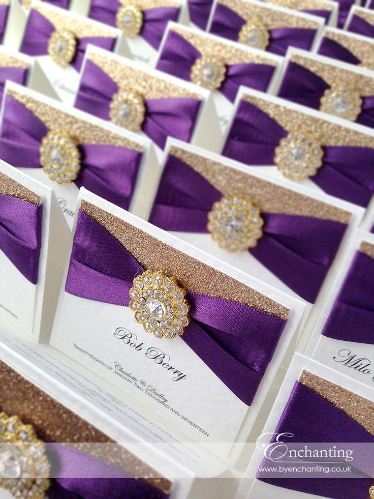 Best 25 Purple and gold wedding ideas on Pinterest