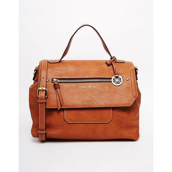 Fiorelli Casey Satchel with Zip Detal (€93) found on Polyvore