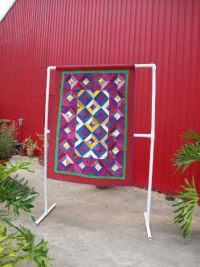How To Make A Pvc Quilt Rack - WoodWorking Projects & Plans