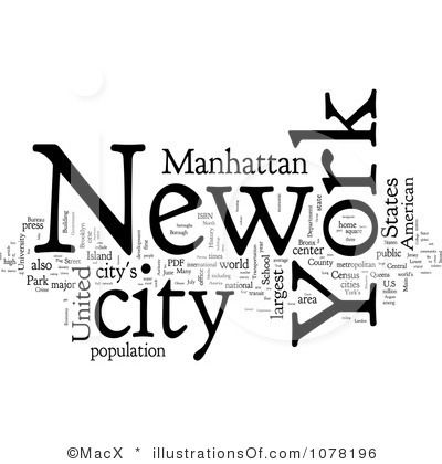 Royalty-Free (RF) New York Clipart Illustration by MacX