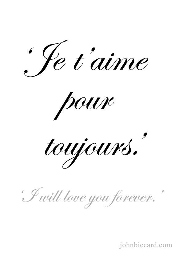 17+ best ideas about French Love Phrases on Pinterest