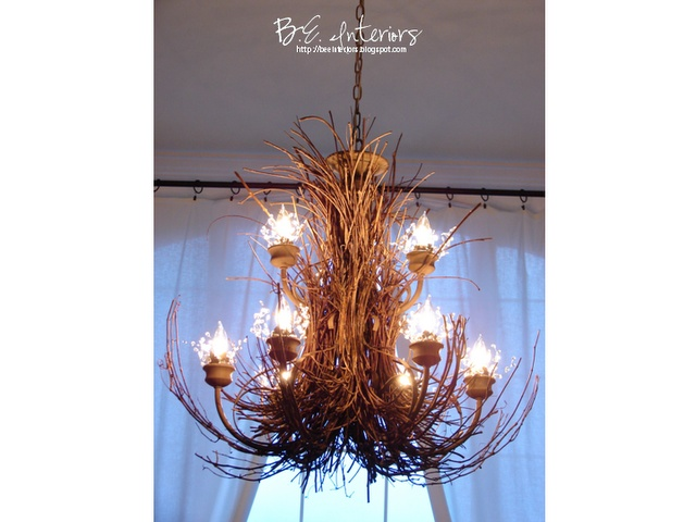 recover dining room chairs kids camping 25+ best ideas about twig chandelier on pinterest   branch chandelier, unique and ...