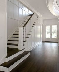 25+ best ideas about Wainscoting stairs on Pinterest