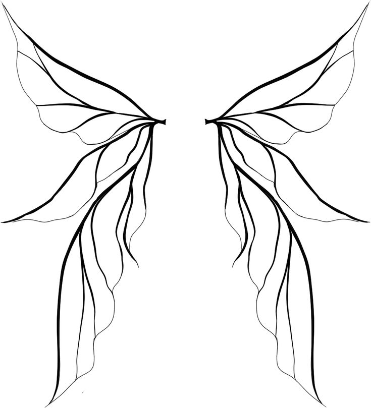 17 Best ideas about Fairy Wings Drawing on Pinterest