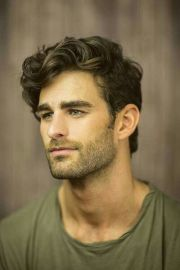 wavy hair men ideas
