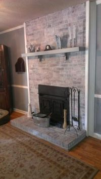 17 Best images about whitewash on Pinterest | Fireplaces ...