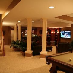 How To Remodel A Small Kitchen Lg Appliance Packages Awkward Pillars Or Support Beams In Your Basement? Make ...