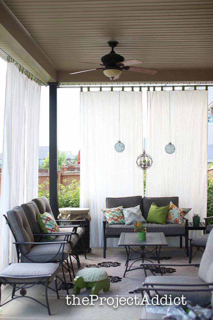 17 Best ideas about Deck Curtains on Pinterest