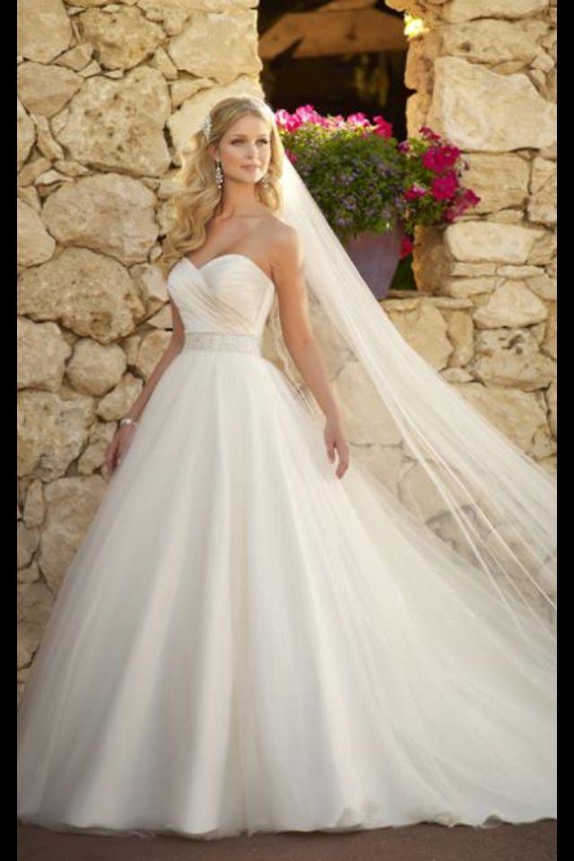 Beautiful princess dress  More wedding dresses  Pinterest  Beautiful Princesses and Dresses