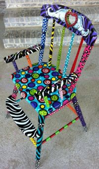 72 best images about Funky Painted Furniture on Pinterest