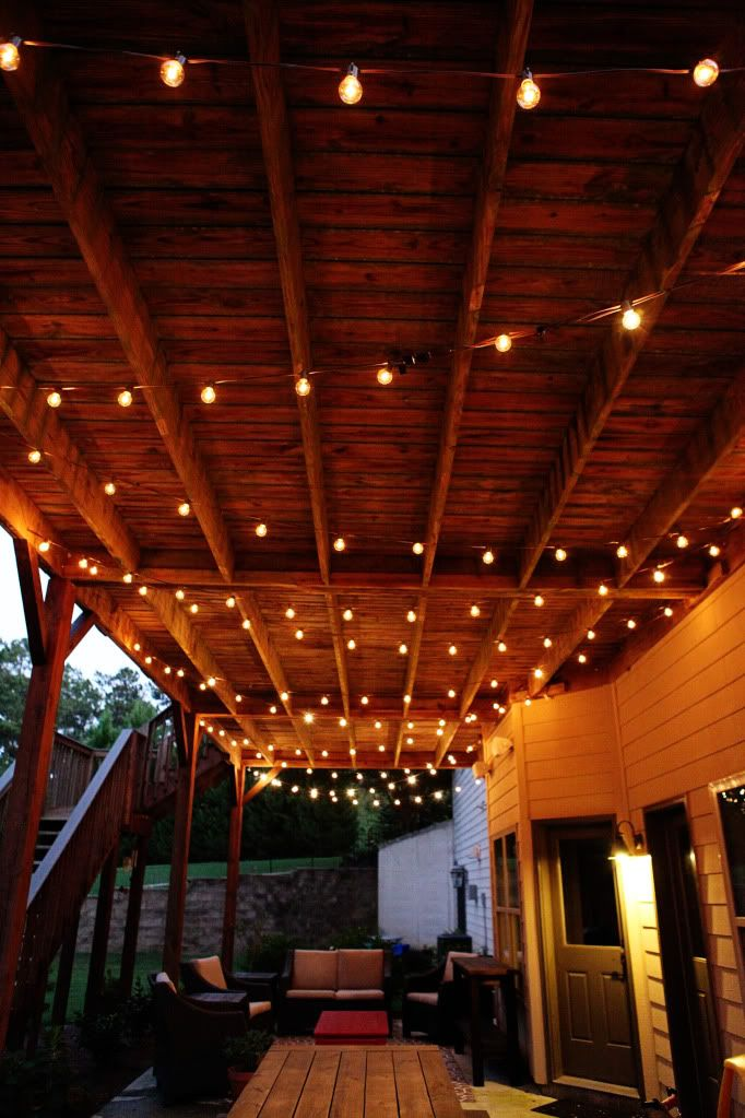 25 best ideas about Porch string lights on Pinterest