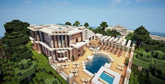 Minecraft-Virage-Modern-Island-House-Map-3