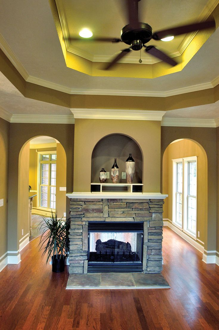 Prestbury Southern Home House Plans Fireplaces And See