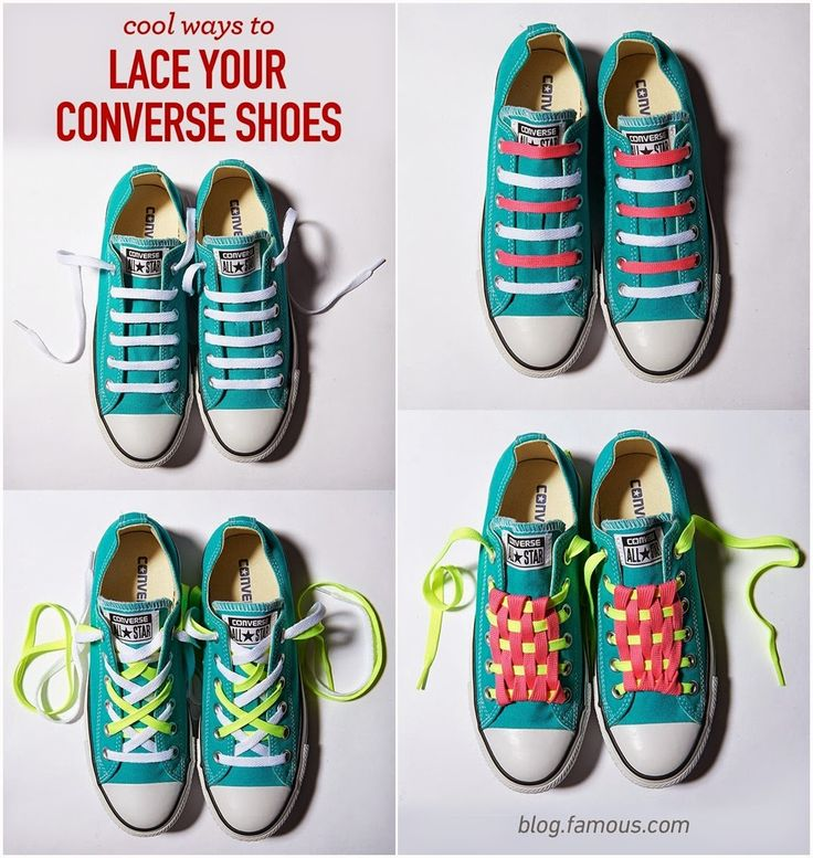 Cool Ways To Lace Your Converse Shoes  For The Kids