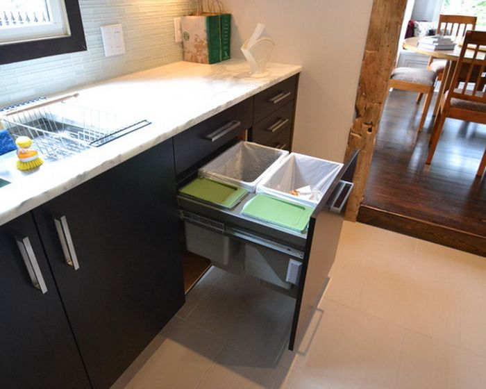 17 Best Images About Trash Disposal Bins/cabinets On