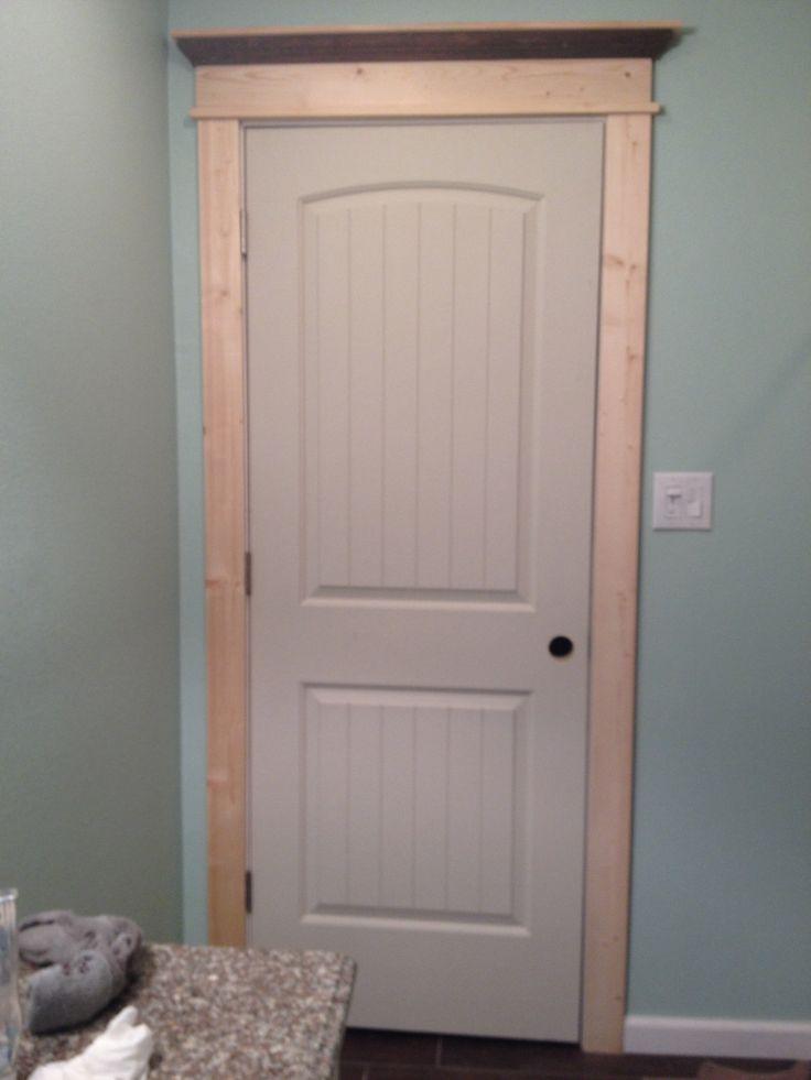 Craftsman door casing  home  Pinterest  Craftsman door
