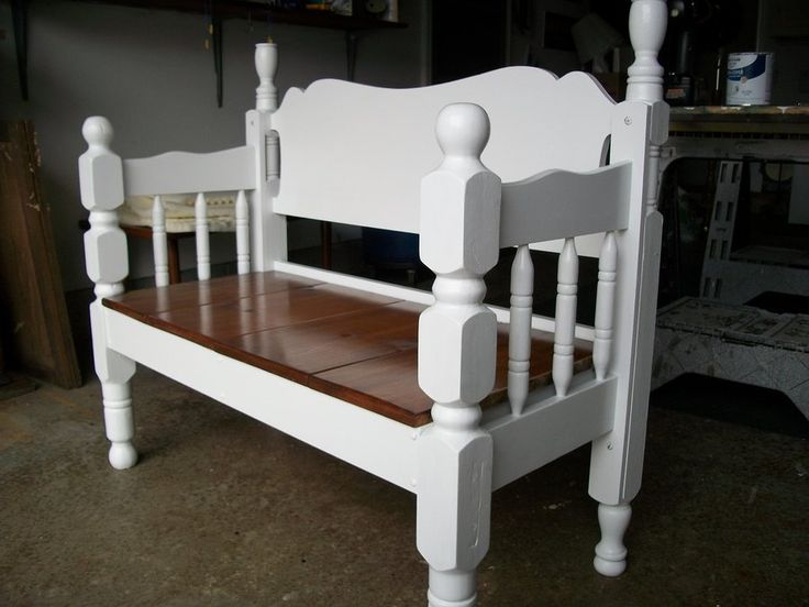 25 best ideas about Bed frame bench on Pinterest
