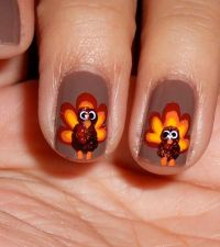 1000+ images about Thanksgiving Nail Designs on Pinterest ...